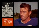 1962 Topps #112  Jim Patton  Front Thumbnail