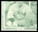1935 Goudey 4-in-1 Reprints #8 C Jack Burns / Frank Grube / Rollie Hemsley / Bob Weiland  Back Thumbnail