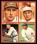 1935 Goudey 4-in-1 Reprint #6 F Heinie Schuble / Fred Marberry / Goose Goslin / General Crowder  Front Thumbnail