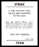1936 Goudey Reprint #24  Paul Waner  Back Thumbnail