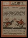 1962 Topps #122  J.D. Smith  Back Thumbnail