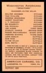 1922 E120 American Caramel Reprint #113  George Mogridge  Back Thumbnail