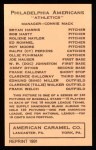 1922 E120 American Caramel Reprint #78  Ollie Fuhrman  Back Thumbnail