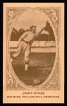 1922 E120 American Caramel Reprint #77  Jimmy Dykes  Front Thumbnail
