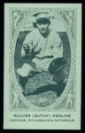 1922 E120 American Caramel Reprint #198  Walter Henline  Front Thumbnail
