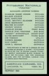1922 E120 American Caramel Reprint #217  Johnny Gooch  Back Thumbnail