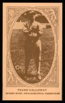 1922 E120 American Caramel Reprint #76  Frank Calloway  Front Thumbnail