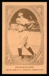 1922 E120 American Caramel Reprint #1  George H. Burns  Front Thumbnail