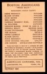 1922 E120 American Caramel Reprint #7  Michael Menosky  Back Thumbnail