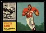 1962 Topps #142  Prentice Gautt  Front Thumbnail