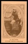 1922 E120 American Caramel Reprint #15  Al Walters  Front Thumbnail