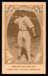 1922 E120 American Caramel Reprint #24  Hervey McClellan  Front Thumbnail