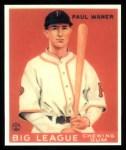 1933 Goudey Reprint #25  Paul Waner  Front Thumbnail