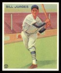 1933 Goudey Reprint #225  Billy Jurges  Front Thumbnail