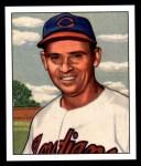 1950 Bowman REPRINT #129  Joe Gordon  Front Thumbnail