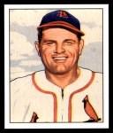 1950 Bowman REPRINT #207  Max Lanier  Front Thumbnail