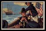 1954 Bowman U.S. Navy Victories #13   Naval Forces take Monterey Front Thumbnail