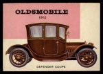 1954 Topps World on Wheels #152   Oldsmobile Defender Coupe 1912 Front Thumbnail