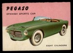1954 Topps World on Wheels #19   Pegaso Front Thumbnail