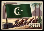 1956 Topps Flags of the World #71   Egypt Front Thumbnail