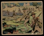 1941 Gum Inc. Uncle Sam Home Defense #6   The Infantry's Supreme Duty Front Thumbnail