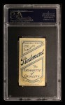 1909 T206 #226 WHI Christy Mathewson  Back Thumbnail