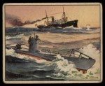 1939 Gum Inc. War News Pictures #50   German Submarine Front Thumbnail