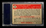 1952 Topps #169  Howie Judson  Back Thumbnail
