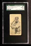 1909 E97-2 C.A. Briggs Black and White  Kitty Bransfield  Front Thumbnail
