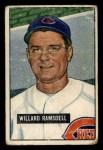 1951 Bowman #251  Willard Ramsdell  Front Thumbnail
