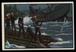 1954 Bowman U.S. Navy Victories #40   Hobson Sinks Ship Front Thumbnail