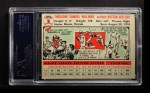1956 Topps #5  Ted Williams  Back Thumbnail