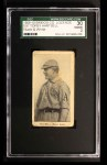 1909 E97-2 C.A. Briggs Black and White  Topsy Hartsell  Front Thumbnail