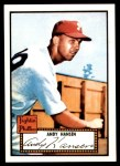 1952 Topps Reprints #74  Andy Hansen  Front Thumbnail