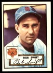 1952 Topps REPRINT #181  Bob Swift  Front Thumbnail