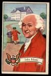 1956 Topps U.S. Presidents #4  John Adams  Front Thumbnail
