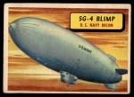 1957 Topps Planes #45 BLU  Sg-4 Blimp Front Thumbnail