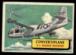 1957 Topps Planes #31 BLU  Convertiplane Front Thumbnail