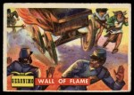 1956 Topps Round Up #63   -  Geronimo Wall Of Flame Front Thumbnail