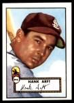 1952 Topps REPRINT #284  Hank Arft  Front Thumbnail