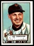 1952 Topps REPRINT #315  Leo Durocher  Front Thumbnail