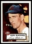1952 Topps REPRINT #344  Ewell Blackwell  Front Thumbnail