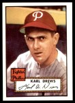 1952 Topps REPRINT #352  Karl Drews  Front Thumbnail
