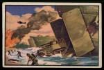 1954 Bowman U.S. Navy Victories #41   Saipan Victory Front Thumbnail