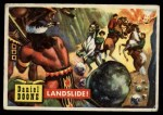 1956 Topps Round Up #49   -  Daniel Boone Landslide Front Thumbnail