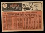 1966 Topps #103 TR Dick Groat  Back Thumbnail