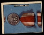 1950 Topps Freedoms War #193   Good Conduct Medal  Front Thumbnail