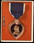 1950 Topps Freedoms War #192   Purple Heart  Front Thumbnail