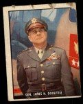 1950 Topps Freedoms War #199   General James H. Doolittle  Front Thumbnail