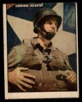 1950 Topps Freedoms War #104   Airborne Infantry  Front Thumbnail